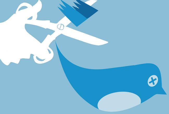 twitter censure