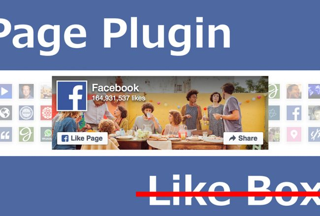 page plug in like box facebook