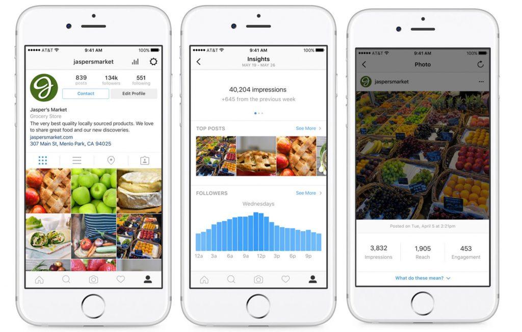 Instagram-profil-business-entreprise