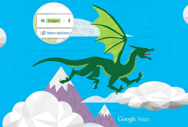dragon google map