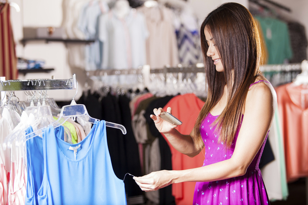 utilisation mobile en magasin