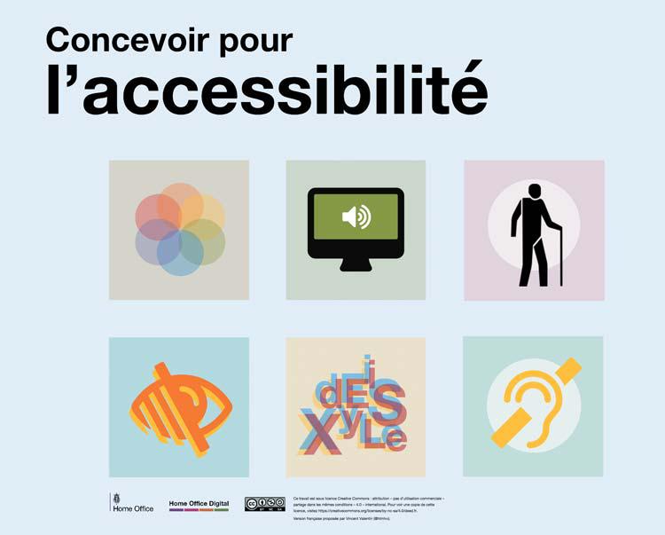 Concevoir pour l'accessibilité