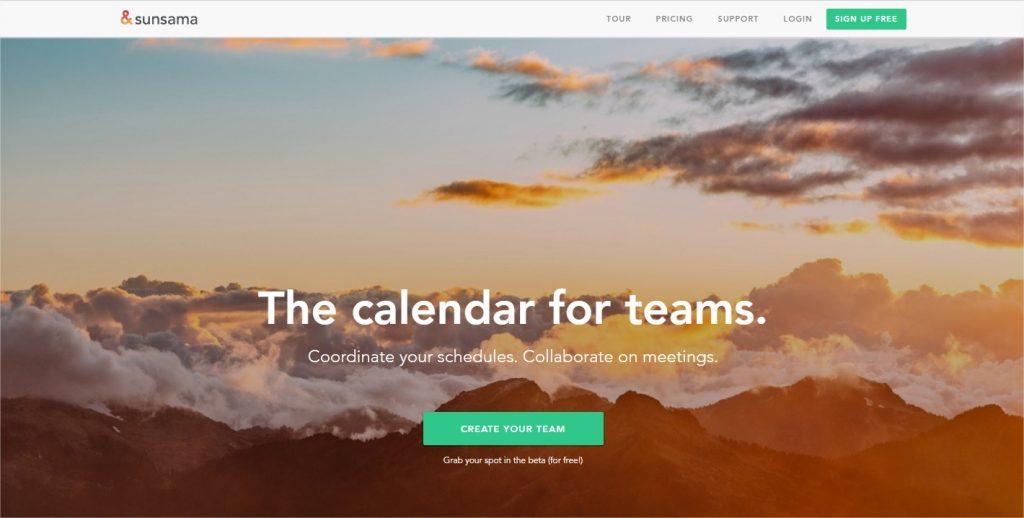 Sunsama The calendar for teams