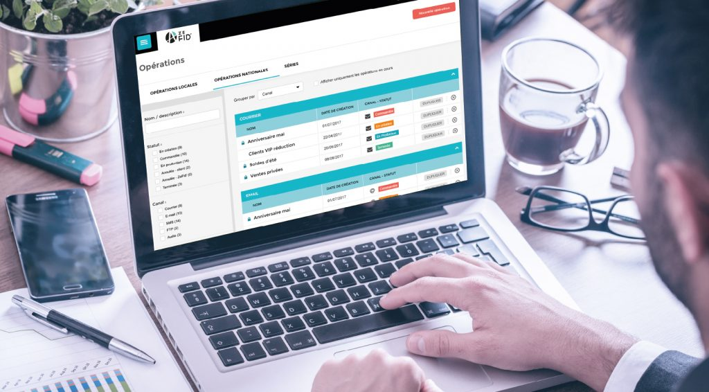 ZEFID' la solution complète de gestion de vos datas clients
